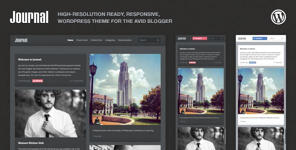 15-Journal Responsive WordPress