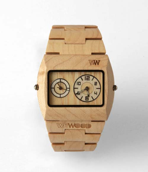 15-WeWood Jupiter Dual Movement Watch
