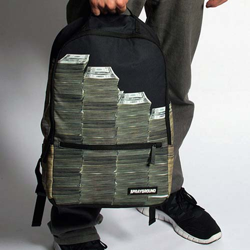 18-Money Stacks Backpack