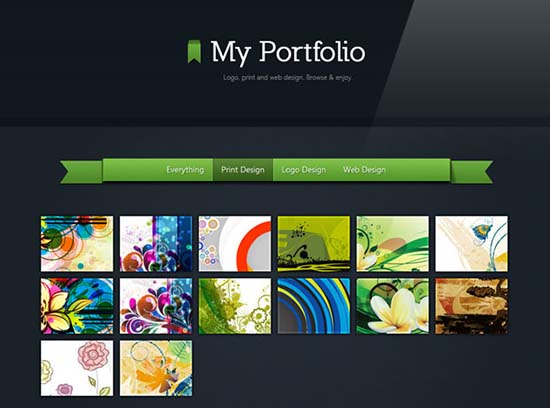 18. Making a beautiful HTML5 Portfolio