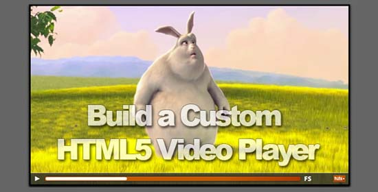 19. Build a custom HTML5 Video Player