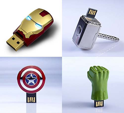 2-The Avengers USB Sticks
