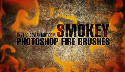 22-Smokey Fire Brushes
