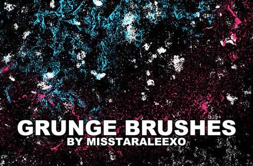 23-Grunge Brushes