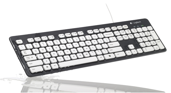 23. LOGITECH WASHABLE KEYBOARD K310