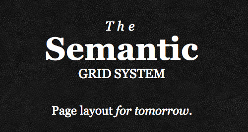 4. Semantic Grid System