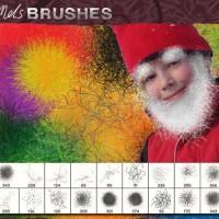40-Hot Fuzz Dynamic Brushes