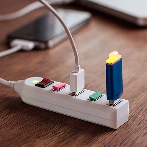 5-USB Power Strip