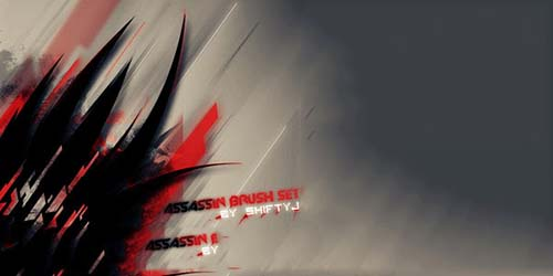 8-assassin-photoshop-brush-set