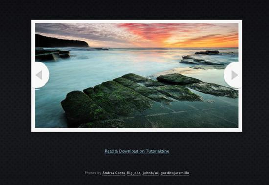 An HTML5 Slideshow w Canvas & jQuery