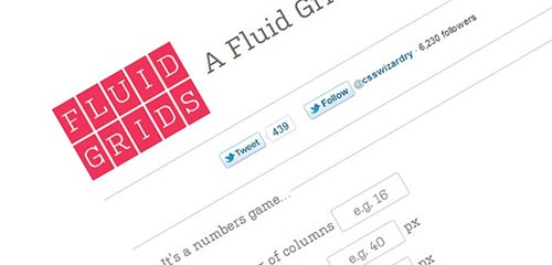 Fluid Grid Calculator