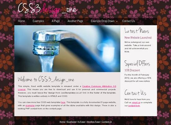 HTML5CSS3Templates 37 50 Adet Ücretsiz HTML5 CSS3 Çalışma