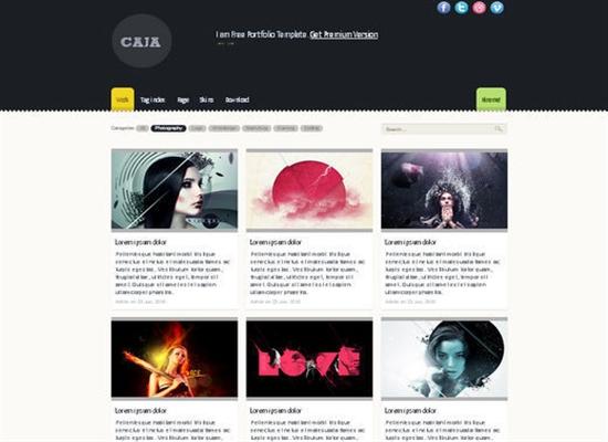 HTML5CSS3Templates 40 50 Adet Ücretsiz HTML5 CSS3 Çalışma