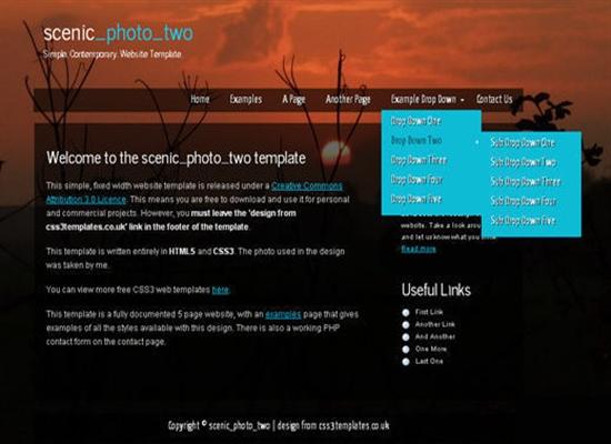 HTML5CSS3Templates 41 50 Adet Ücretsiz HTML5 CSS3 Çalışma
