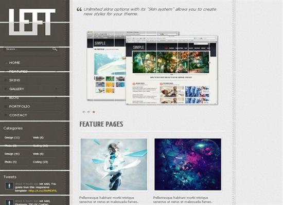 HTML5CSS3Templates 47 50 Adet Ücretsiz HTML5 CSS3 Çalışma