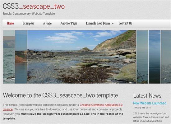 HTML5CSS3Templates 6 50 Adet Ücretsiz HTML5 CSS3 Çalışma