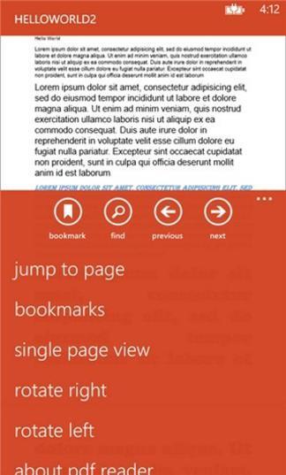 MS PDF Reader