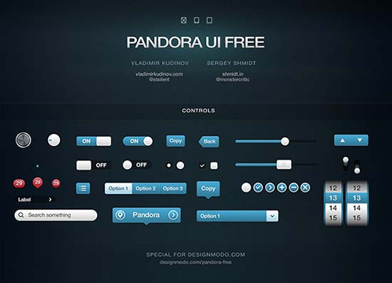 Pandora UI Free
