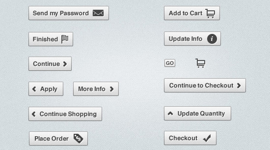 Clean Infusionsoft Buttons