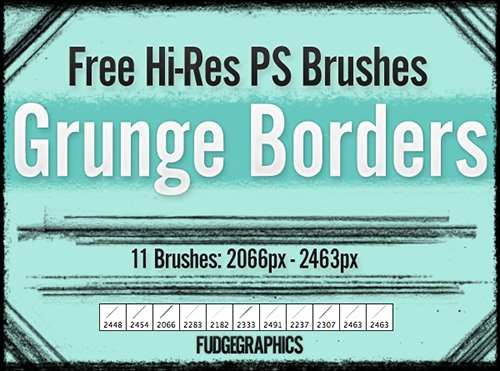 grunge_borders__free_brushes_2