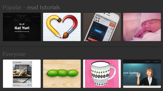 How to grab Dribbble feed with jQuery and CSS3