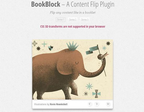 A Content Flip Plugin