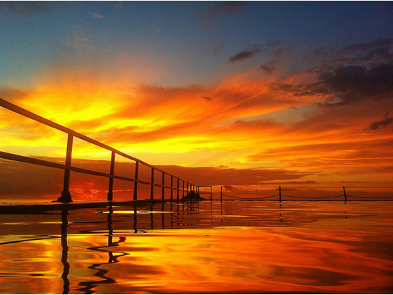 Golden waters of Cronulla