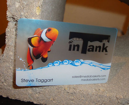 10-In Tank Business Cards