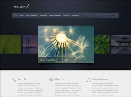 2-Envisioned WordPress Theme