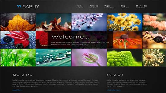 29-Sabuy WordPress Gallery Theme