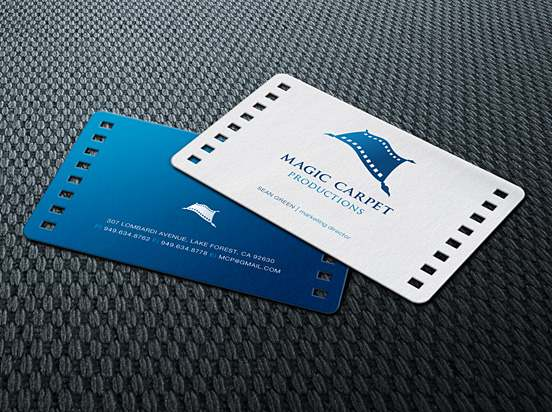 3-Magic Carpet Productions Business Card