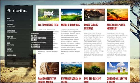 32-Photorific WordPress Gallery Theme