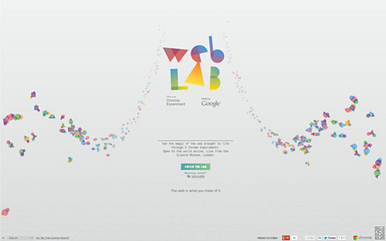 Chrome-Web-Lab-design