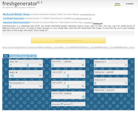 FreshGenerator