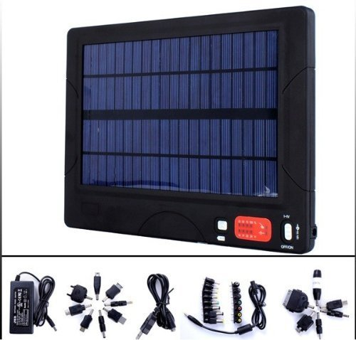 HJS Solar Panel Universal 20000mAh Portable Backup