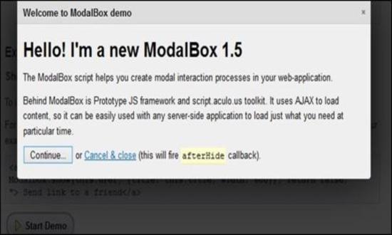 Modal Box