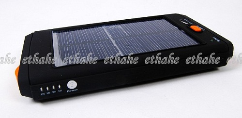 Solar Cell Phone Laptop Netbook Adapter Charger