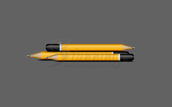 Stylish Pencil Design in Photoshop