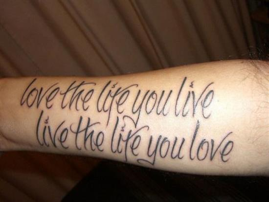 60 Best Love Tattoo Quotes Simple Tattoo Quotes About Love