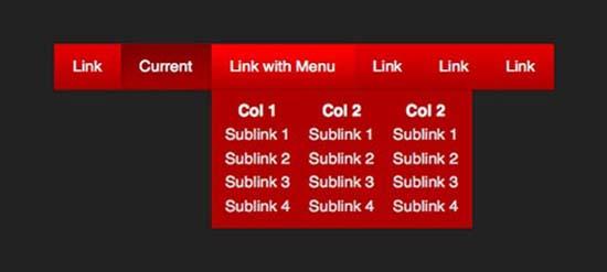 css3 menu full version free download
