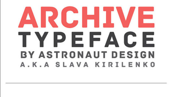 freearchivefont