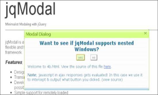 jqModal