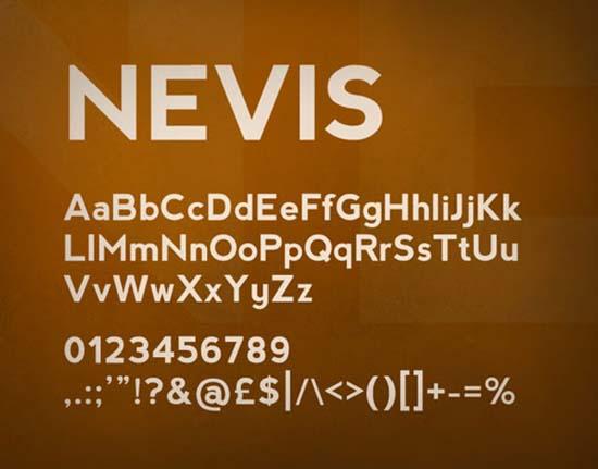 nevis-font