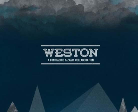 westonfont