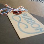 1) ribbon-typeface