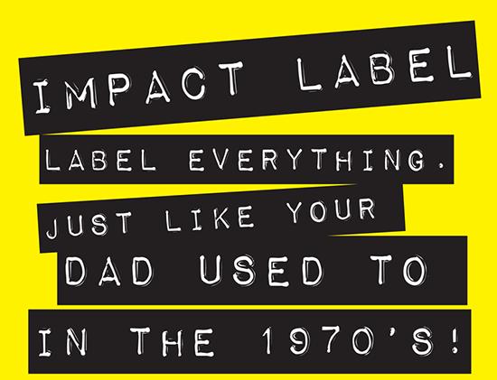 14) Impact Label