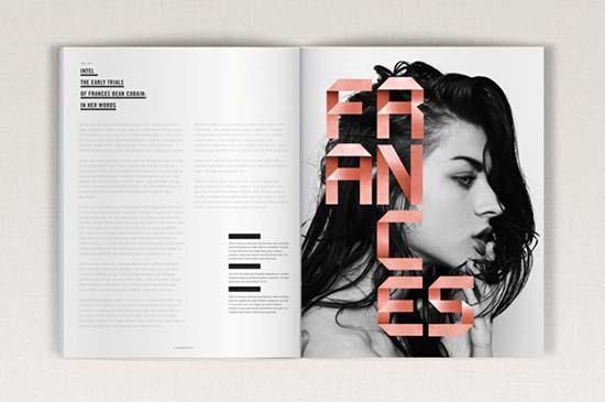 6) FOLDING Display Typeface