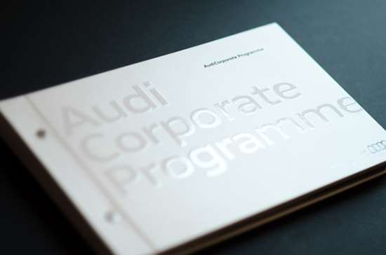 Audi Corporate Program Brochure