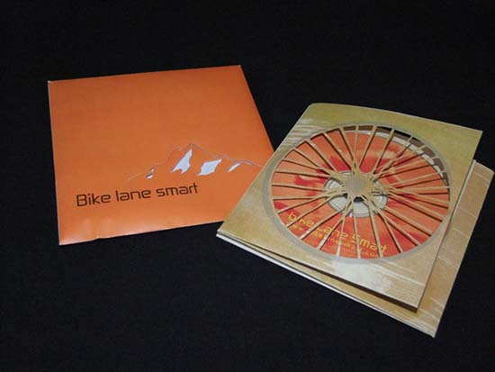 CD cover and brochure