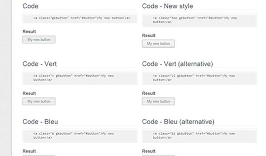 CSS3 Button UI